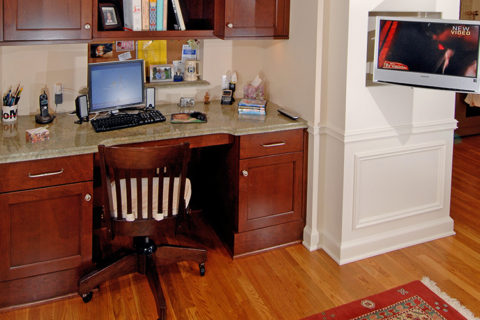 Kingsley Road Home Office Nook