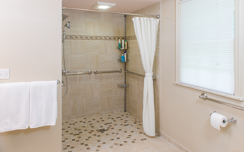 ADA compliant bath design | Karlovec & Company